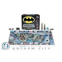 Batman/Gotham City 4D Superhero Puzzles