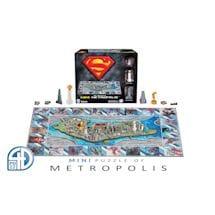 Superman/Metropolis City 4D Superhero Puzzles
