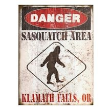 Personalized Sasquatch Sign