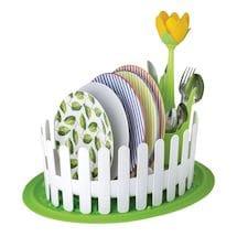 Flower Power Dish & Cutlery Drainer Set