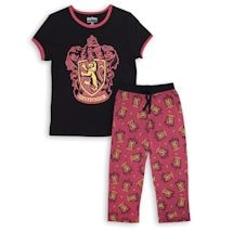 Harry Potter Women's Gryffindor Crest Pajama Set