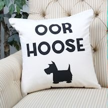 Oor Hoose Scottish Terrier Cusion & Pillow Cover - 18 Inches Square