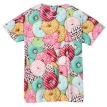 Men's & Women's Donut Print T-Shirts