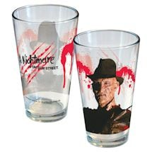 Horror Movie Pint Glass