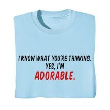 Yes, I'm Adorable Shirts