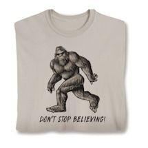Don't Stop Believing Shirts
