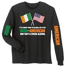 Irish - American Special Blessings Shirts