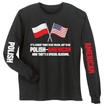 Polish - American Special Blessings Shirts