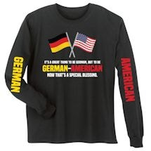 German - American Special Blessings Shirts