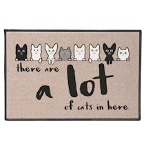 There Are A Lot Of Cats Mat