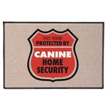 Home Protected By Canine Doormat