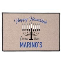 Personalized Hanukkah Doormat