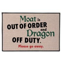 Moat Is Out Of Order, Dragon Off Duty Doormat
