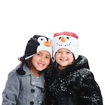 Kids' Animal Reversible Hats