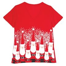 Bowling Pin Santa Sleep Set