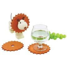 Lion Coaster Holder