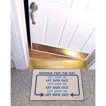 Agenda For The Day Doormat