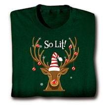 Lit! Reindeer Shirts
