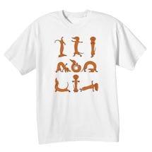 Brown Dachshund Yoga T-Shirts