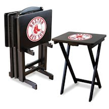 MLB TV Tray Set
