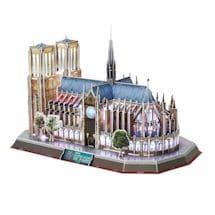 LED 3D Notre Dame Puzzles