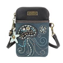 Sea Turtle And Jellyfish Crossbody Bags