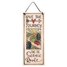 Love The Journey Ceramic Plaque