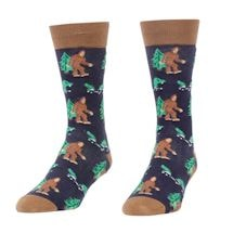 Sasquatch And Nessie Sock
