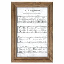 Framed Hymnal Wall Plaques
