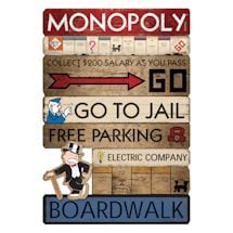 Monopoly Directions Sign