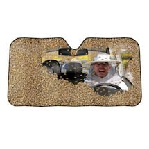 Car Full of Bee Auto Sunshade