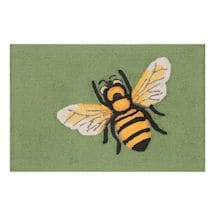 Bee Green Indoor/Outdoor Rug