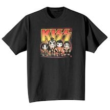 Cute Kiss Lineup T-Shirt