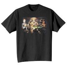 Poker Horror Movie T-Shirts