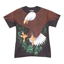 Bald Eagle Front & Back T-Shirt