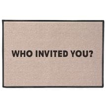 Who Invited You? Doormat