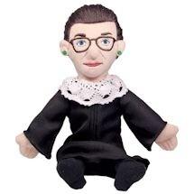 Ruth Bader Ginsburg Little Thinker - RBG Plush Doll