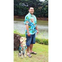 Dog and Companion Aloha Shirts