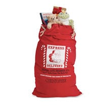 Personalized Santa's Bag