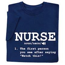 Nurse Definition Shirts