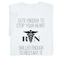 Rn Stop/Start Your Heart Nurse Shirts