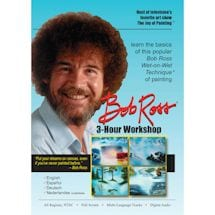 The Joy Of Painting With Bob Ross Dvds - Workshop