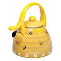 Honey Bees Whistling Tea Kettle