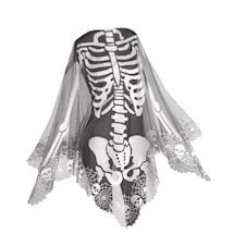 Lace Skeleton Poncho