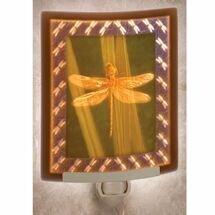 Porcelain Dragonfly Night Light