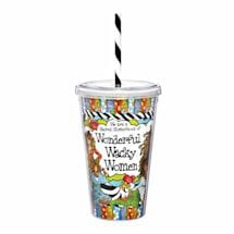 Wonderful Wacky Women Drinkware - Tumbler