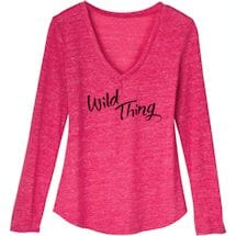 Wild Thing Lounge Wear - Top