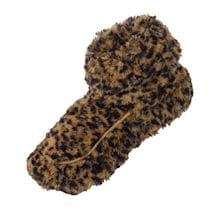 Luscious Leopard Heatable Boot Slippers