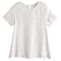 Willa Lace-Trimmed Top