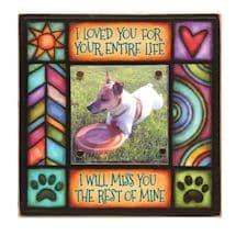 Loved You Pet Memorial Frame